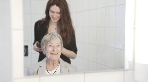 Filmen om farmor - To damer i et speil