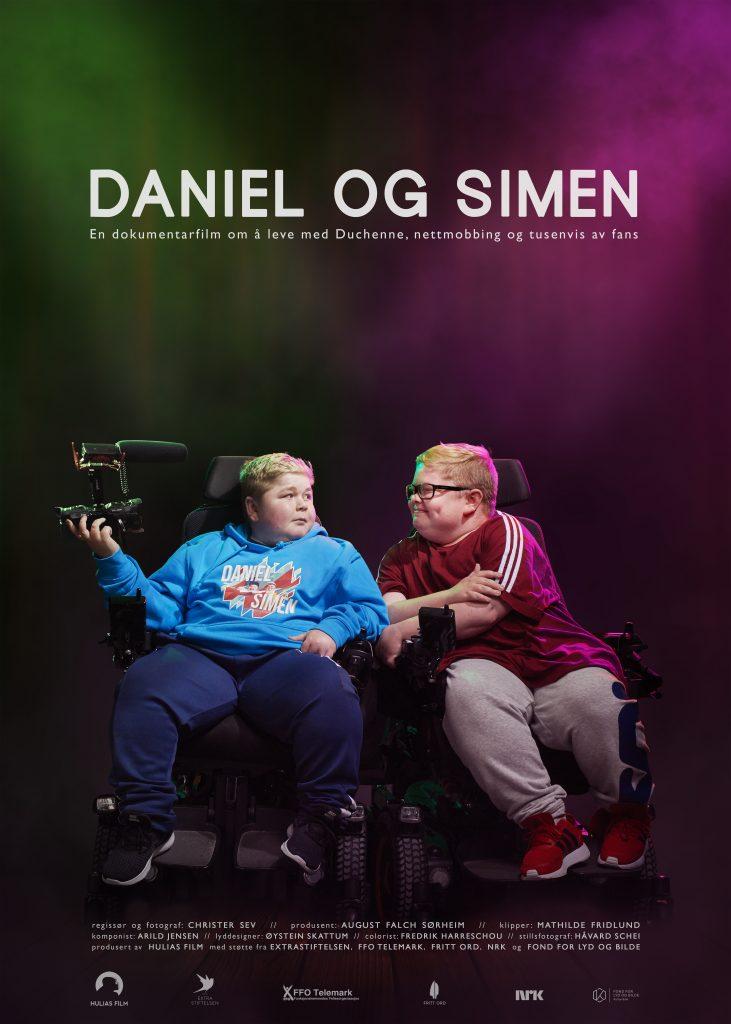Daniel og Simen - plakat stående - forenklet - Christer Sev