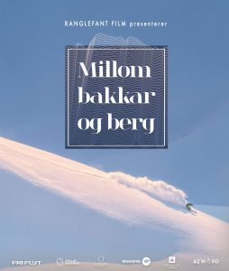 Millom Bakker og berg - downhill skiing down mountain