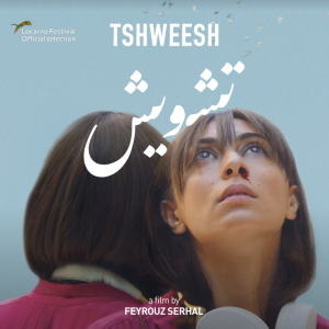 Tshweesh filmposter - Woman bleeding from her nose